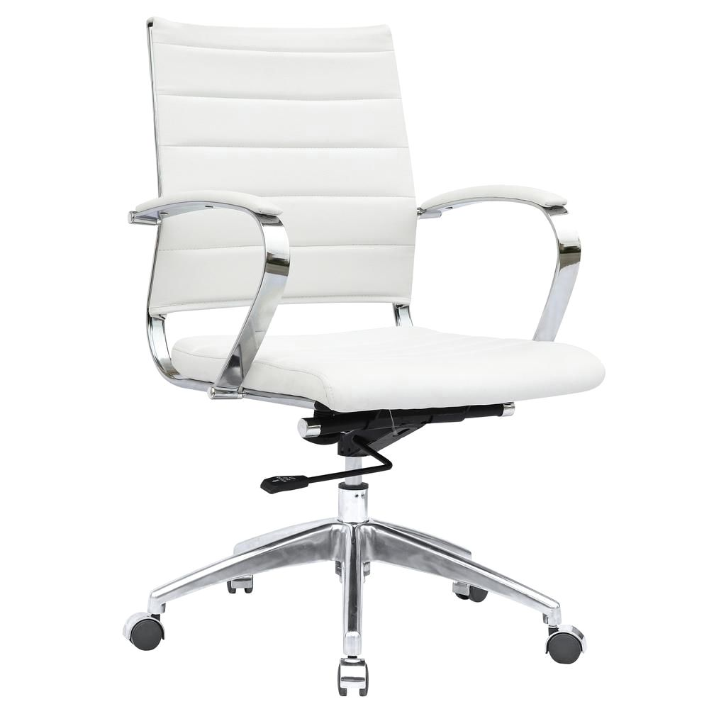 Sopada Conference Office Chair Mid Back White
