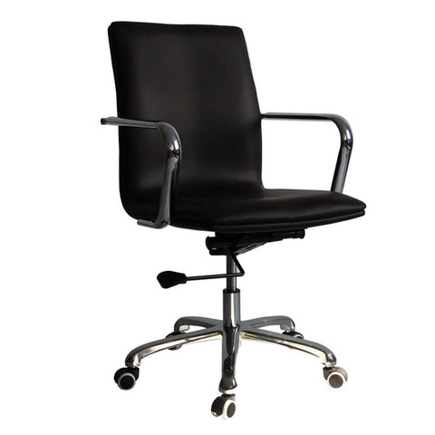 Confreto Conference Office Chair Mid Back Dark Brown
