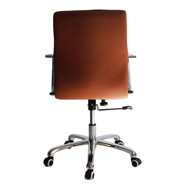 Confreto Conference Office Chair Mid Back Light Brown