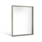 Vig Furniture VGAN-CONNER-MIR Nova Domus Conner Modern Grey Mirror
