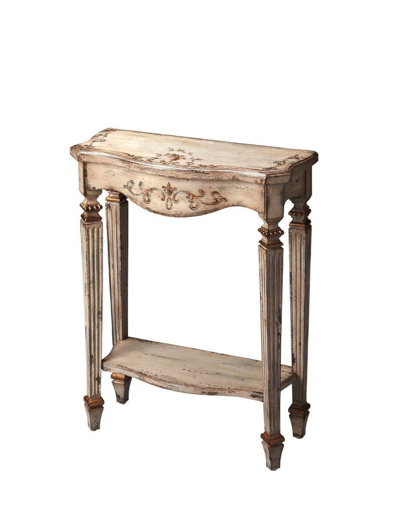 Cheshire Traditional Rectangular Console Table Beige