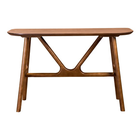 Travis 48 Console Table In American Walnut