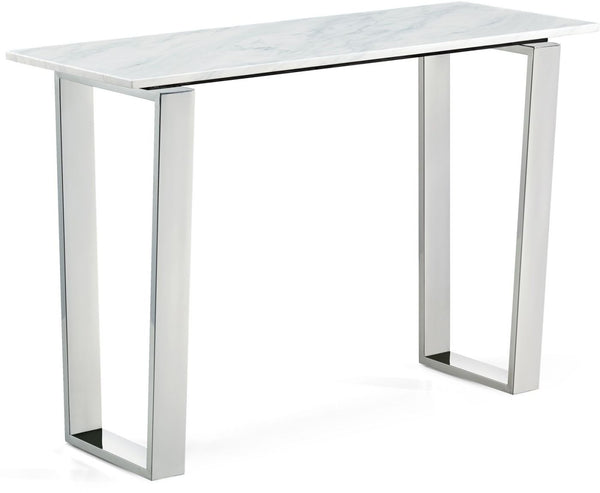 Carlton Chrome Console Table