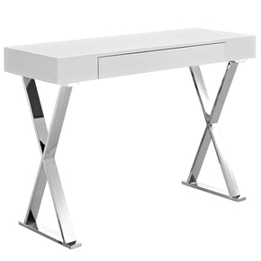 Sector Console Table White