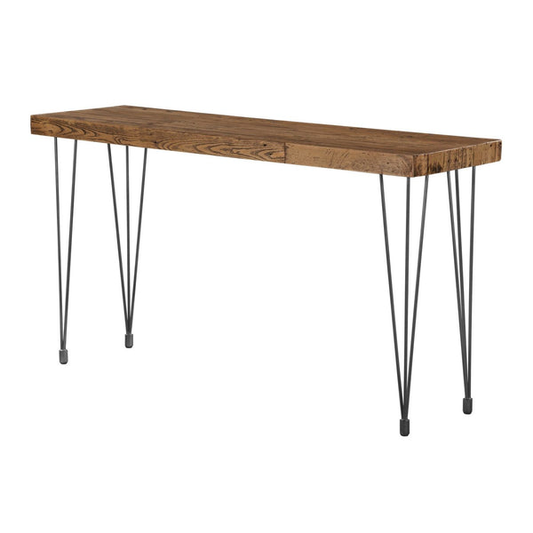 Wondrous Best Price On Moes Home Collection Xa 1034 24 Boneta Console Table Natural Rustic Pine Wood Only 618 00 At Contemporary Furniture Warehouse Andrewgaddart Wooden Chair Designs For Living Room Andrewgaddartcom