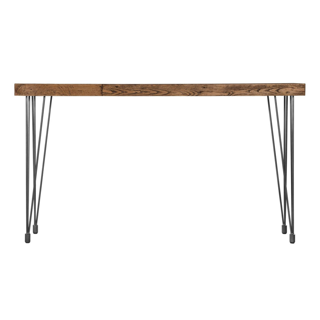 Boneta Console Table Natural Rustic Pine Wood