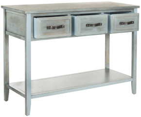 Aiden Console Table Barn Blue