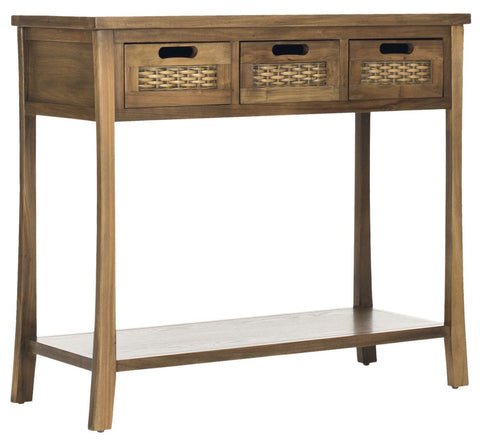 Autumn 3 Drawer Console Oak Table