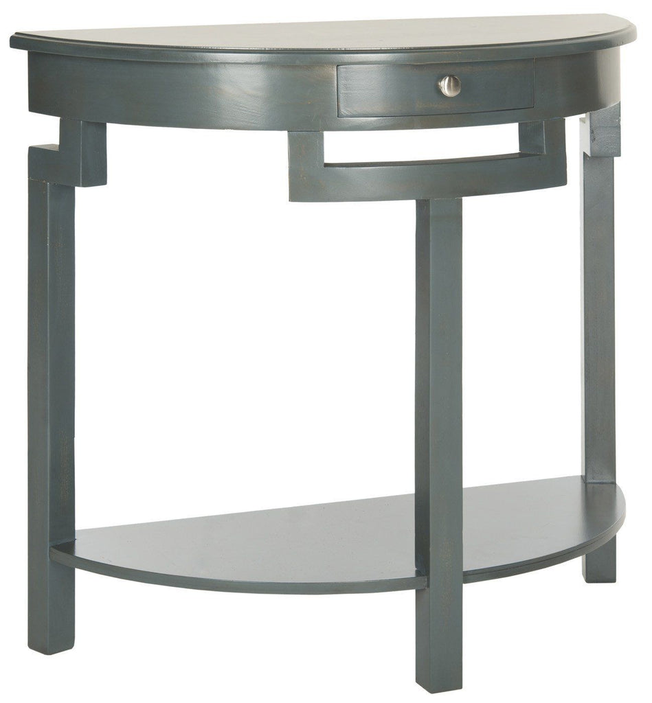 Liana Console Steel Teal Table