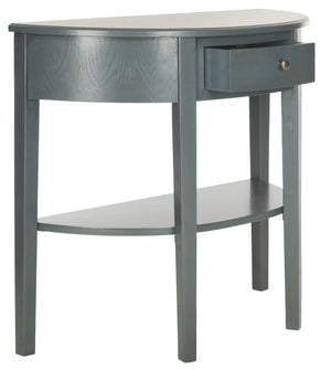 Abram Console Steel Teal Table