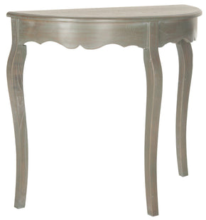 Aggie Console Steel Teal Table