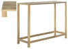 Gigi Console Antique Brass Table