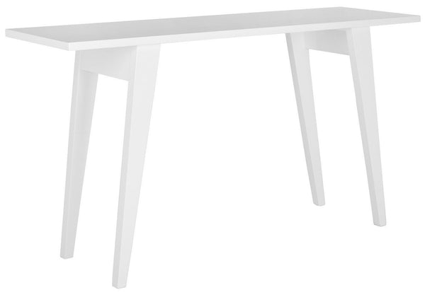 Manny Lacquer Console White Table