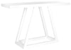 Sutton Lacquer Console White Table