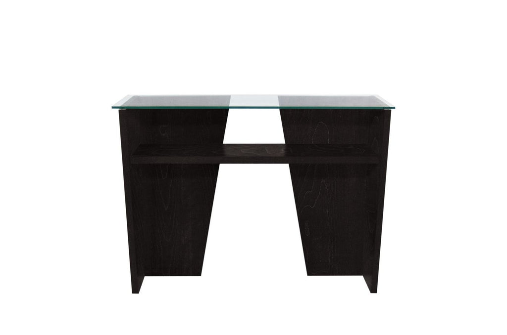 Oliva Console Wenge / Glass Top Table