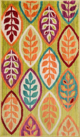 Loloi Isabelle Green / Multi Area Rug
