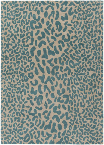 Athena Animal Area Rug Blue