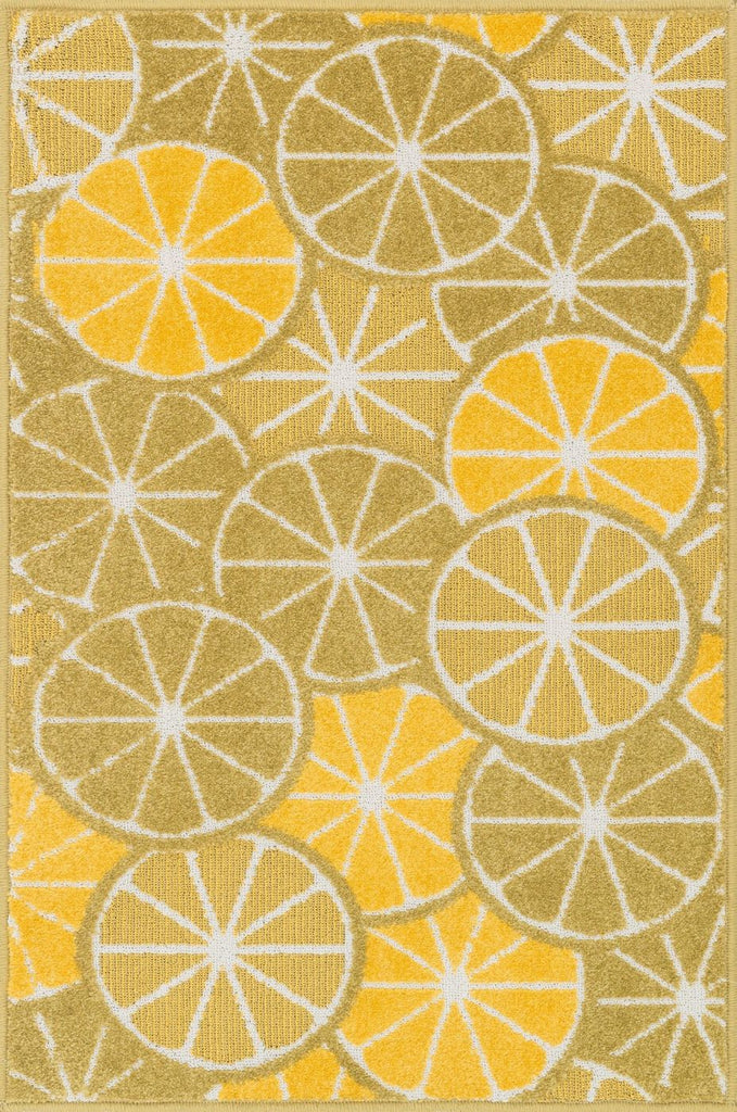 Loloi Tilley Green / Yellow Area Rug