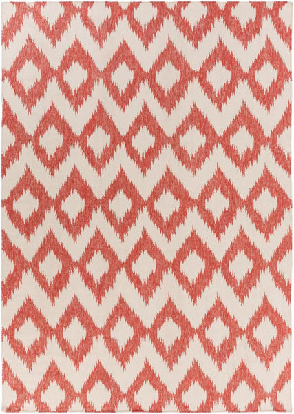 Frontier Ikat And Suzani Area Rug Orange