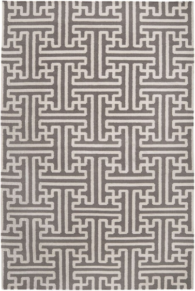 Archive Geometric Area Rug Neutral