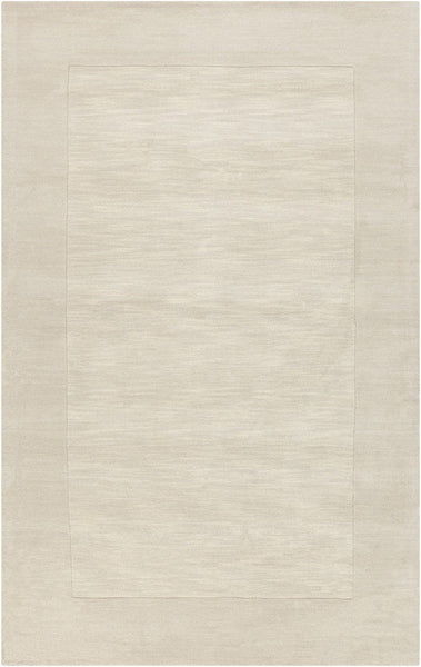 Mystique Solids And Borders Area Rug Neutral