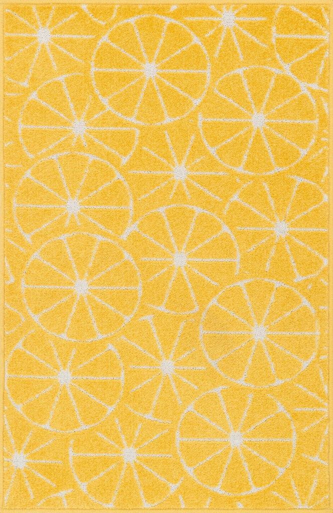 Loloi Tilley Yellow / Ivory Area Rug