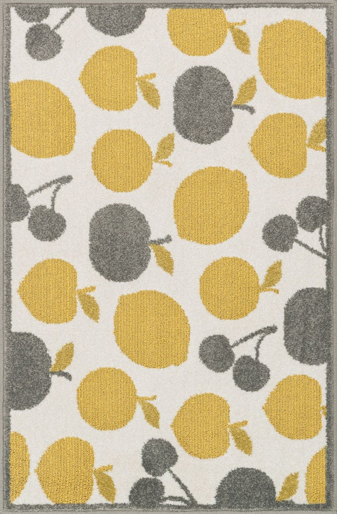 Loloi Tilley Ivory / Yellow Area Rug