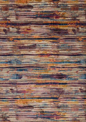 Loloi Dreamscape Raspberry / Multi Area Rug