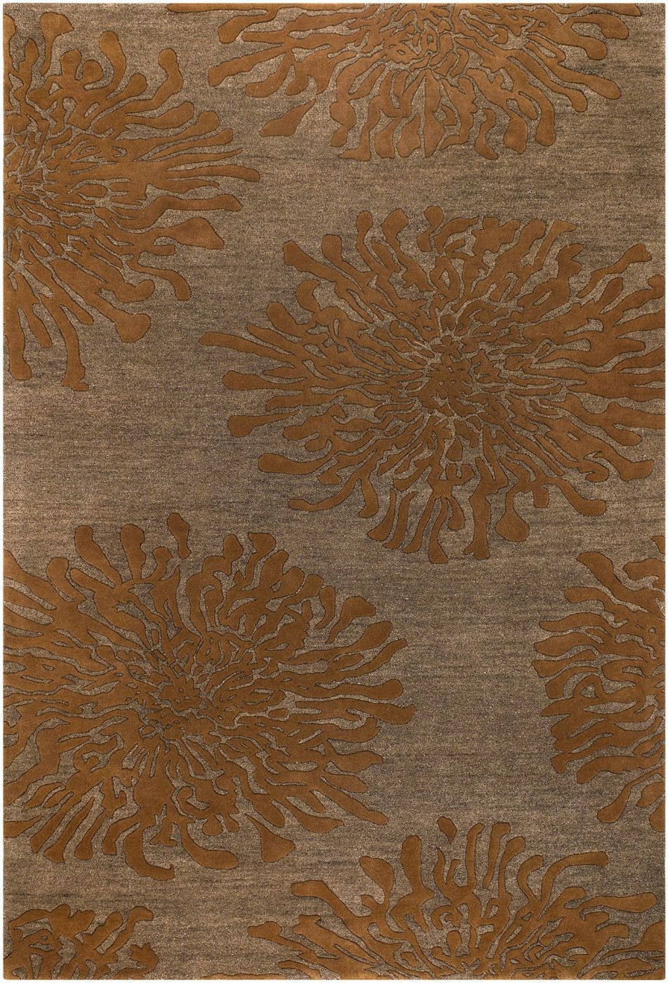 surya blowout sale up to 70 off bst495 23 bombay floral and paisley area rug orange brown. Black Bedroom Furniture Sets. Home Design Ideas