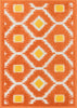 Loloi Terrace Orange / Lemon Area Rug