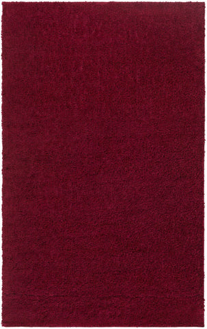 Arlie Shag Area Rug Red