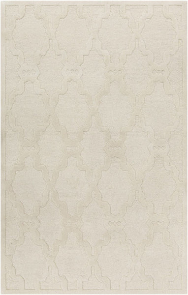 Chandler Solids And Borders Area Rug Neutral