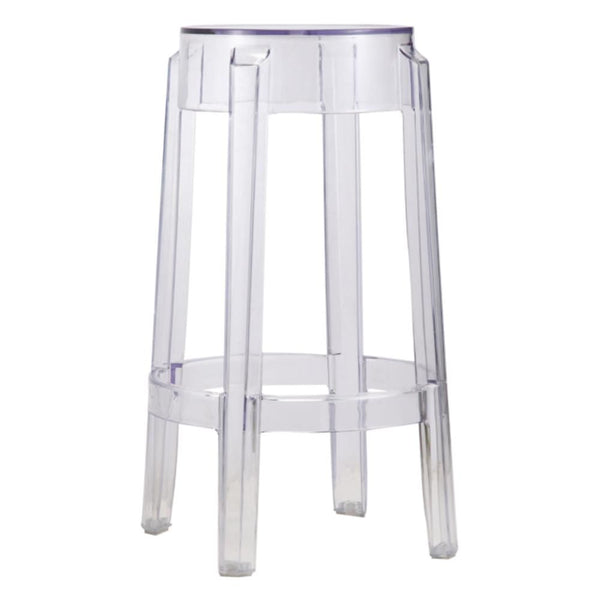 Clear Counter Stool Chair