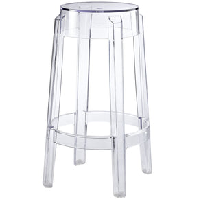 Casper Ghost Counter Stool Clear Chair