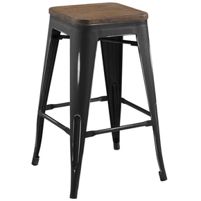Promenade Counter Stool Black Chair
