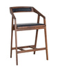 Padma Counter Stool American Walnut Wood Pvc