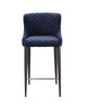 Etta Counter Stool Dark Blue Velvet