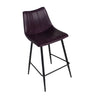 Alibi Counter Stool Purple-Set Of Two