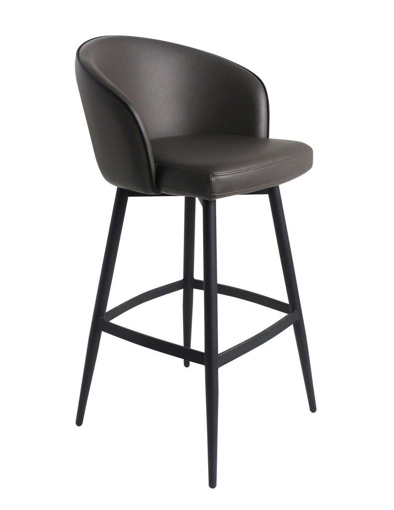 Counter Chairs - Moes Home Collection UU-1004-07 Webber Counter Stool Charcoal | 849043069571 | Only $289.00. Buy today at http://www.contemporaryfurniturewarehouse.com