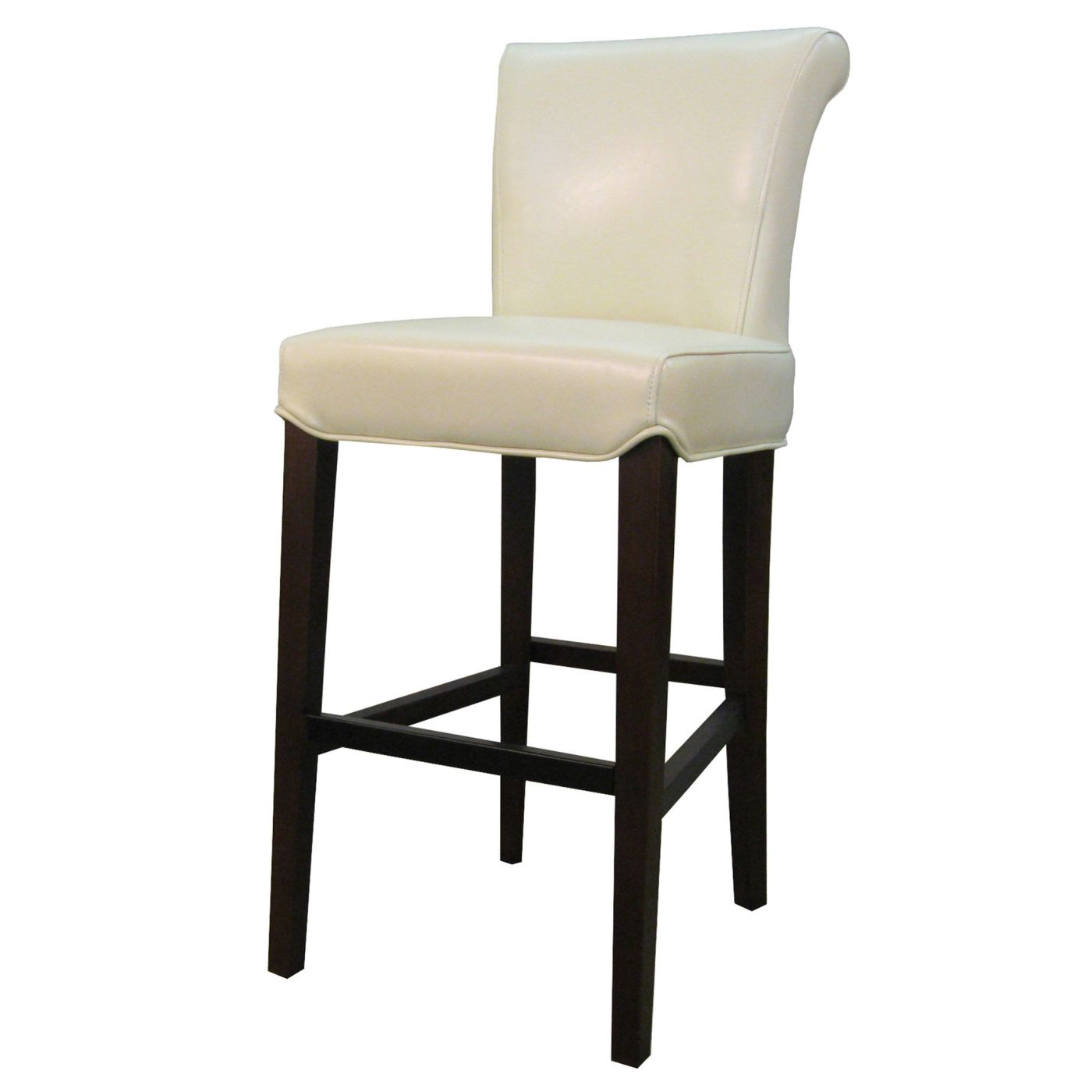 Admirable Buy New Pacific Direct 148524 2050 Bentley Leather Counter Stool Beige At Contemporary Furniture Warehouse Onthecornerstone Fun Painted Chair Ideas Images Onthecornerstoneorg