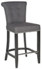 Addo Ring Counterstool Charcoal Counter Chair