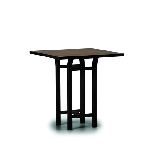 Tulip 36 Counter Height Table Black Walnut