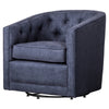 Walsh Fabric Swivel Chair Denim Slate Blue