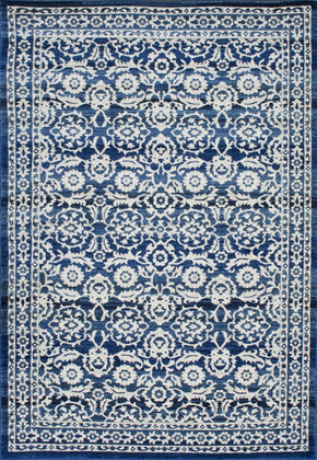 Nuloom Turnbull Rug Dark Blue