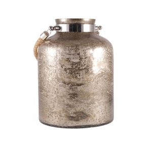 Baroness Bottle 11.5-Inch Antique Sand Artifact,nickel Jar/bottle