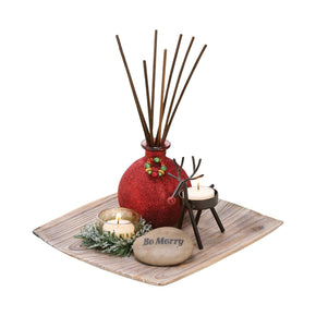 Merrily Reed Garden Antique Palonia,red,rustic,cham Diffusers/incense