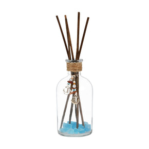 Spa Reed Diffuser In Frosted Azure Clear,frosted Diffusers/incense