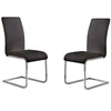 Amanda Black Side Chair (Set Of 2) Dining