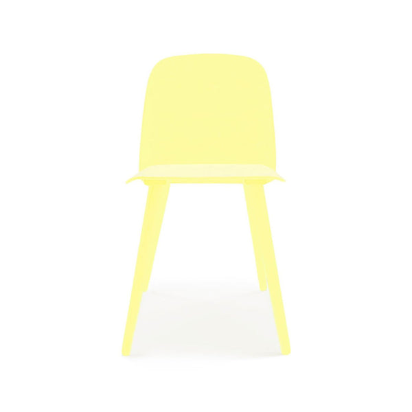 Proov Scandinavian Minimalistic Yellow Side Chair (Set Of 2) Dining