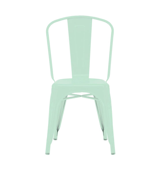 Dining Chairs - Design Lab MN LS-9000-MTLPEP Sundsvall Stackable Matte Light Peppermint Steel Side Chair (Set of 4) | 638264259959 | Only $214.80. Buy today at http://www.contemporaryfurniturewarehouse.com